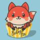 劣狐狐烘焙LOGO