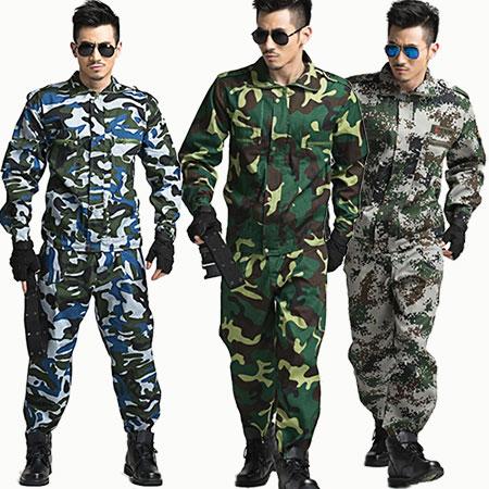 上海各种迷彩服工厂直销店