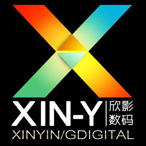 欣影数码专营店logo