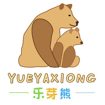 乐芽熊潮童坊logo