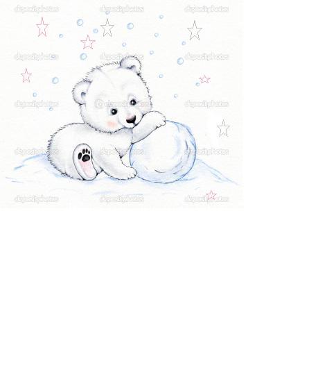 吉机北极熊