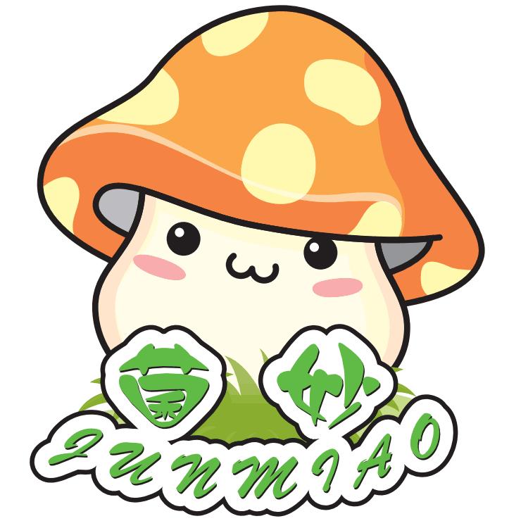 菌妙食品logo