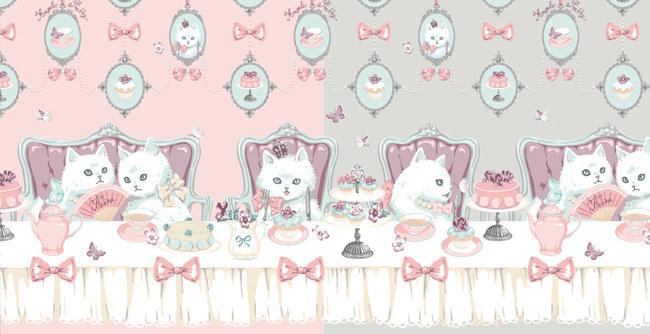 cat tea party原创手作