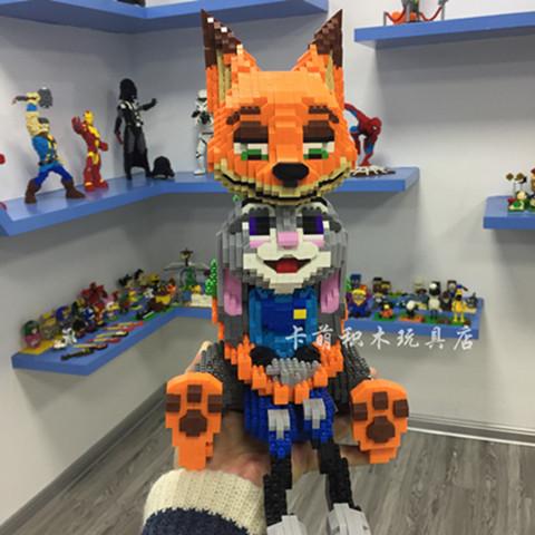 卡萌积木玩具店