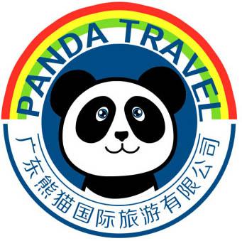 广东熊猫国旅专营店LOGO